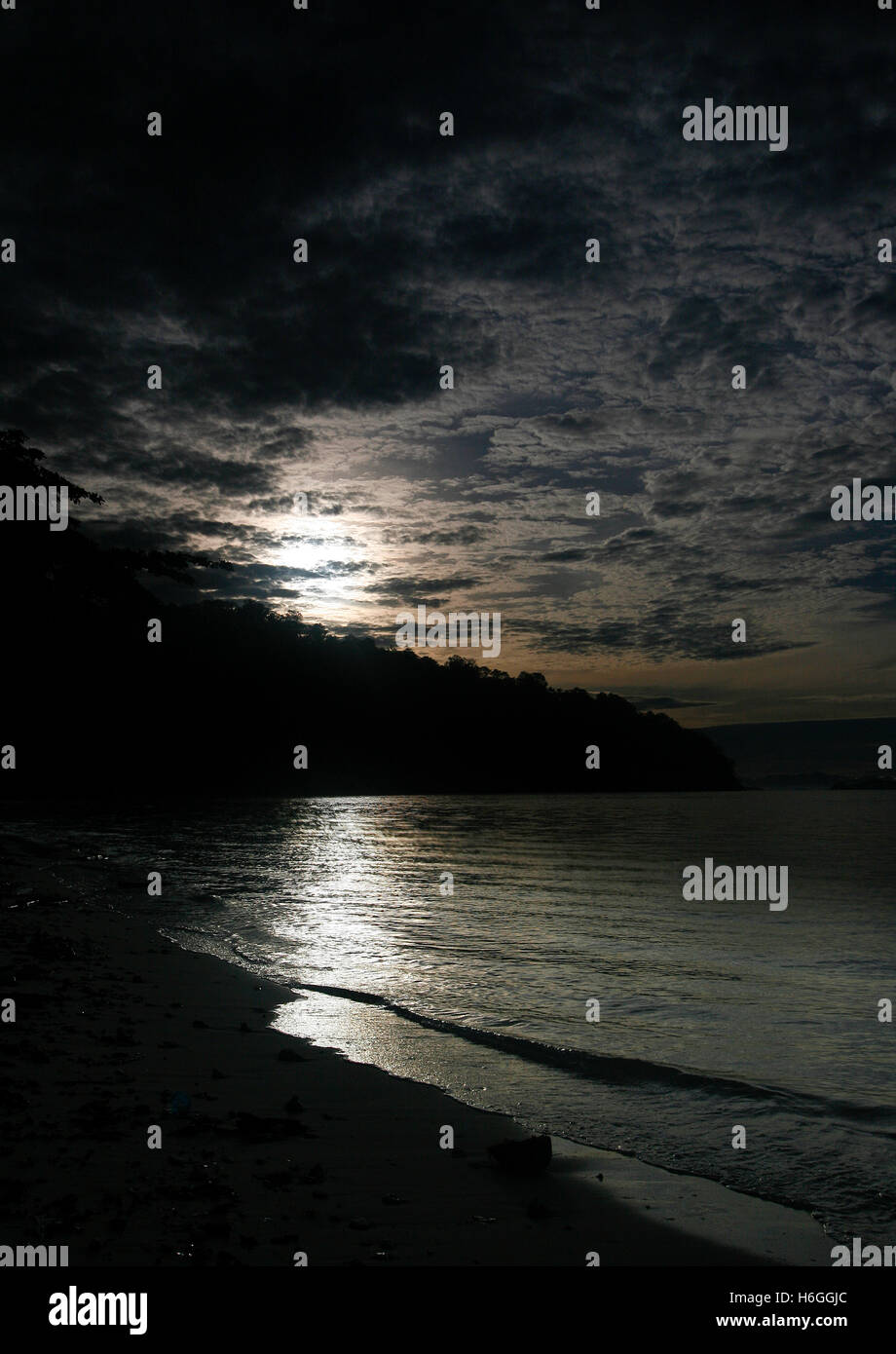 Inhabited island. Gorontalo, Sulawesi. Indonesia Stock Photo