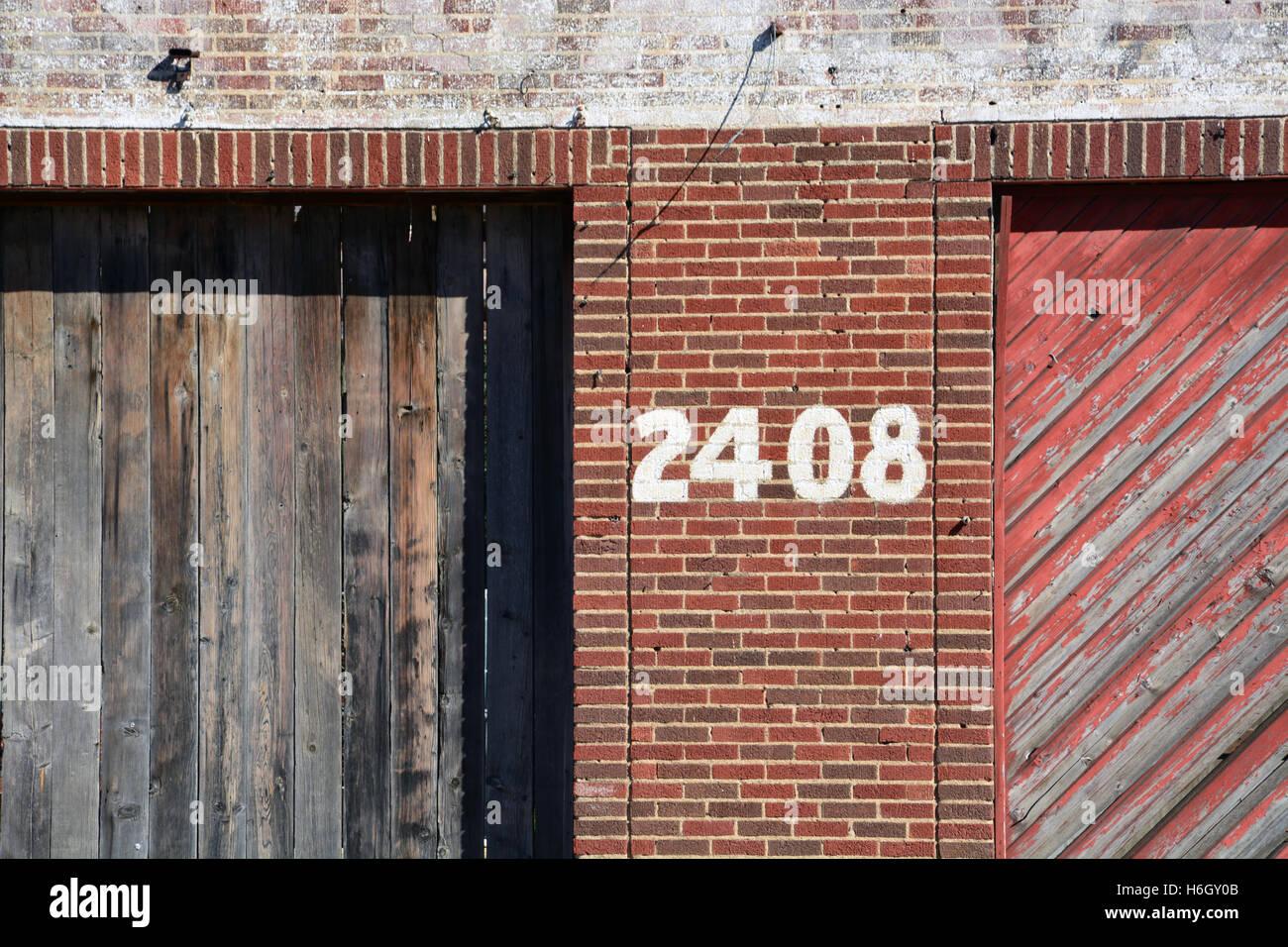 Address 2408 - Stock Image