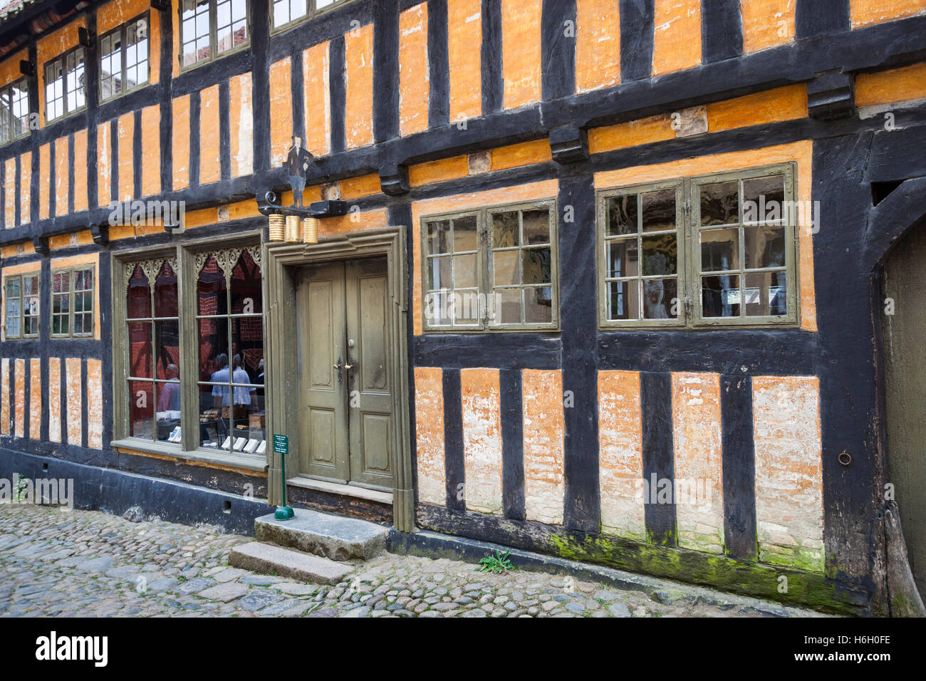 The Tobacconist's shop, Den Gamle By, Aarhus, Denmark - Stock Image