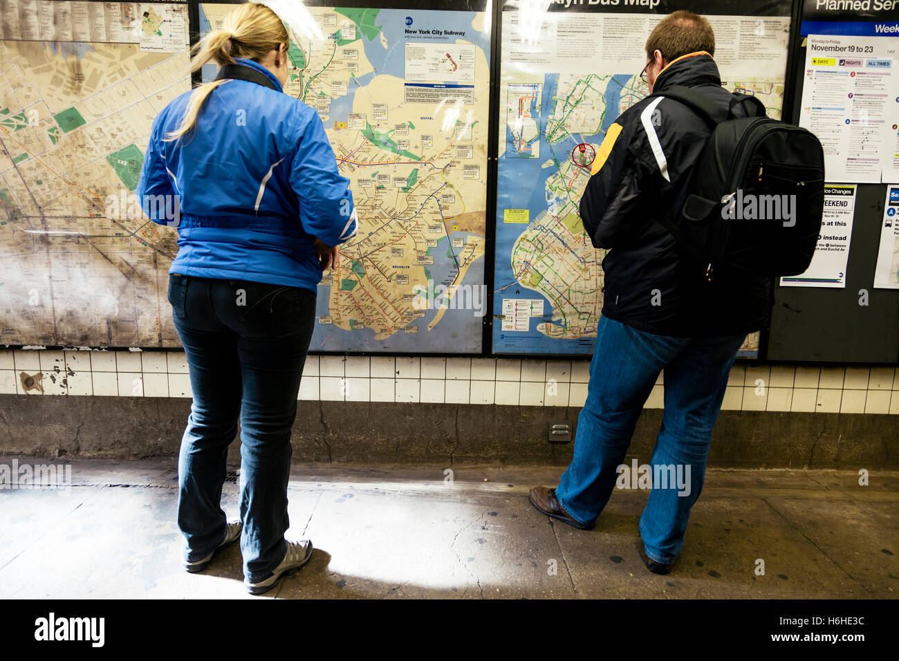 New York City Navigating Subway Map.New York Navigation Subway Map Stock Photos New York Navigation