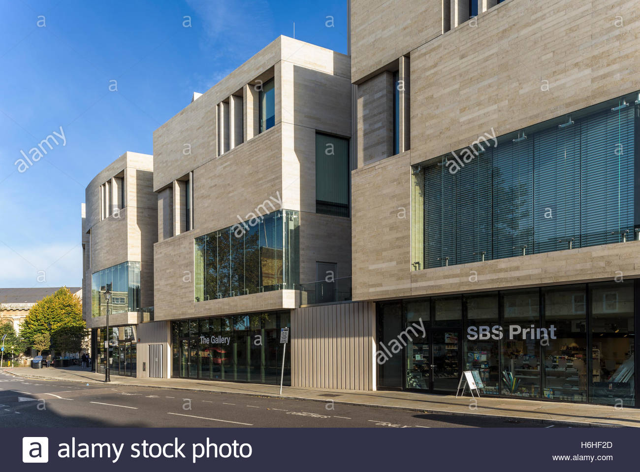 The Stockwell Building, University of Greenwich - Stock Image