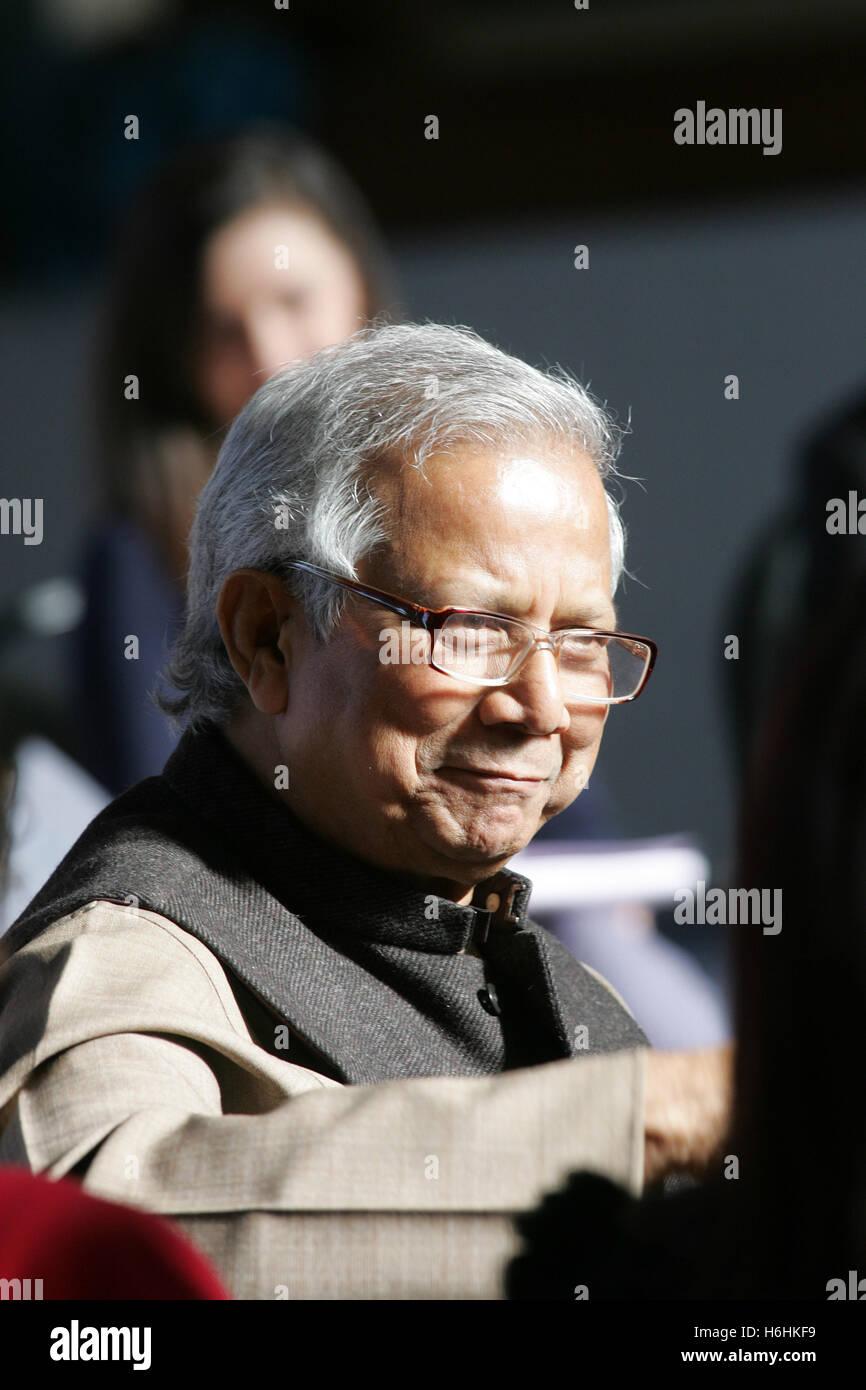 Muhammad Yunus - Stock Image