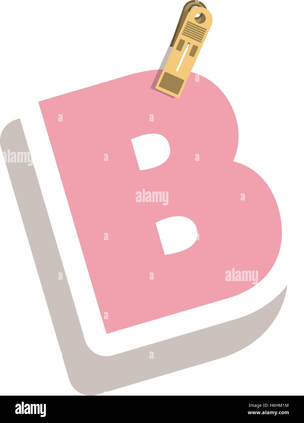 Letter B Stock Vector Images - Alamy