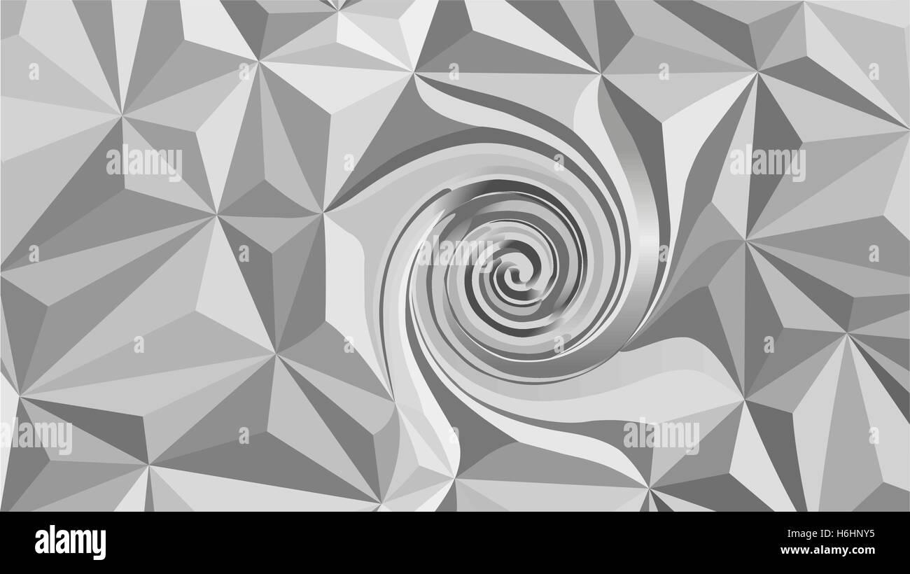 Abstract polygonal vector background - digitally generated image - Stock Vector
