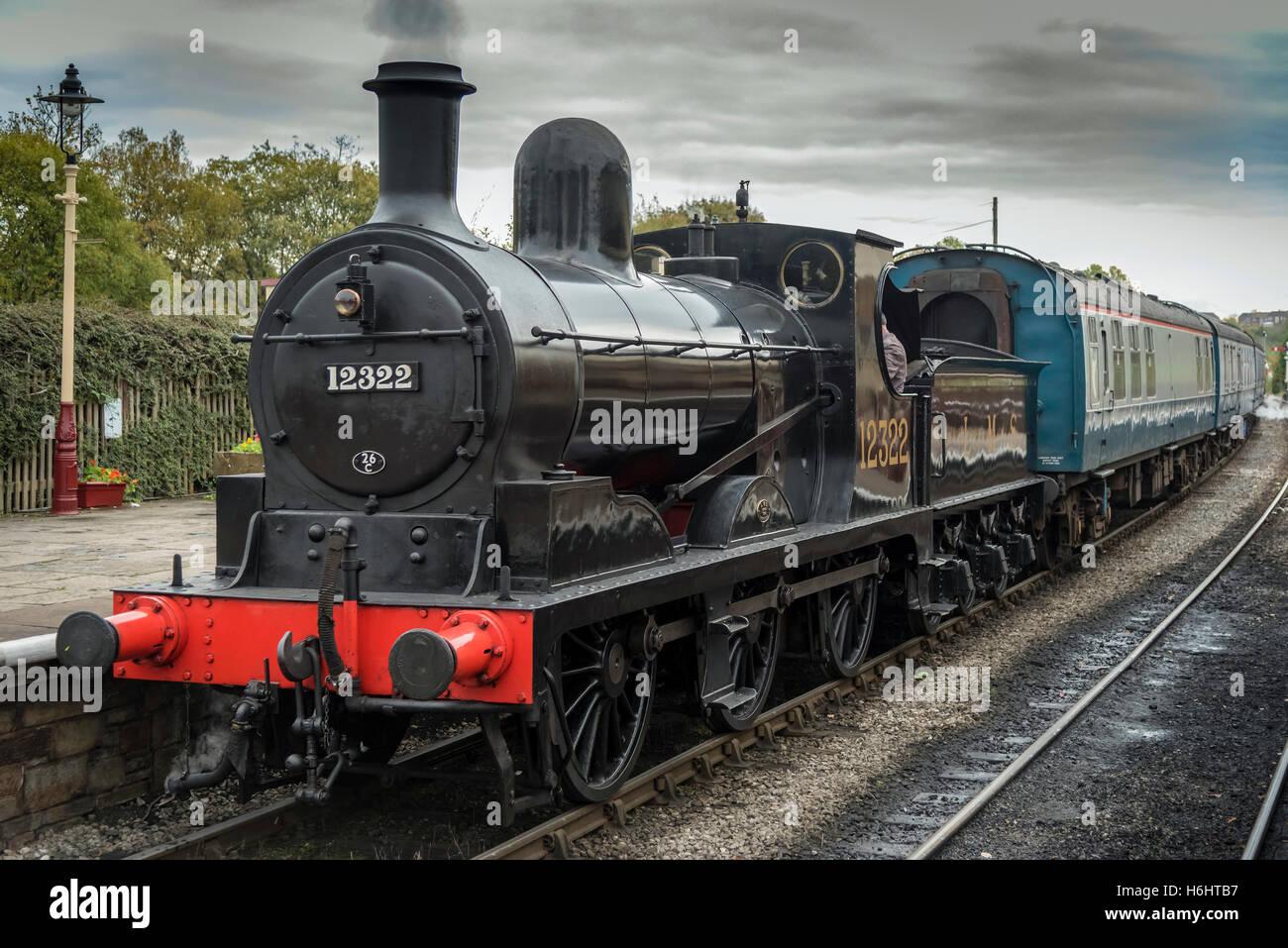 Ramsbottom Lancashire North West England. station. East Lancashire Railway. ELR - Stock Image