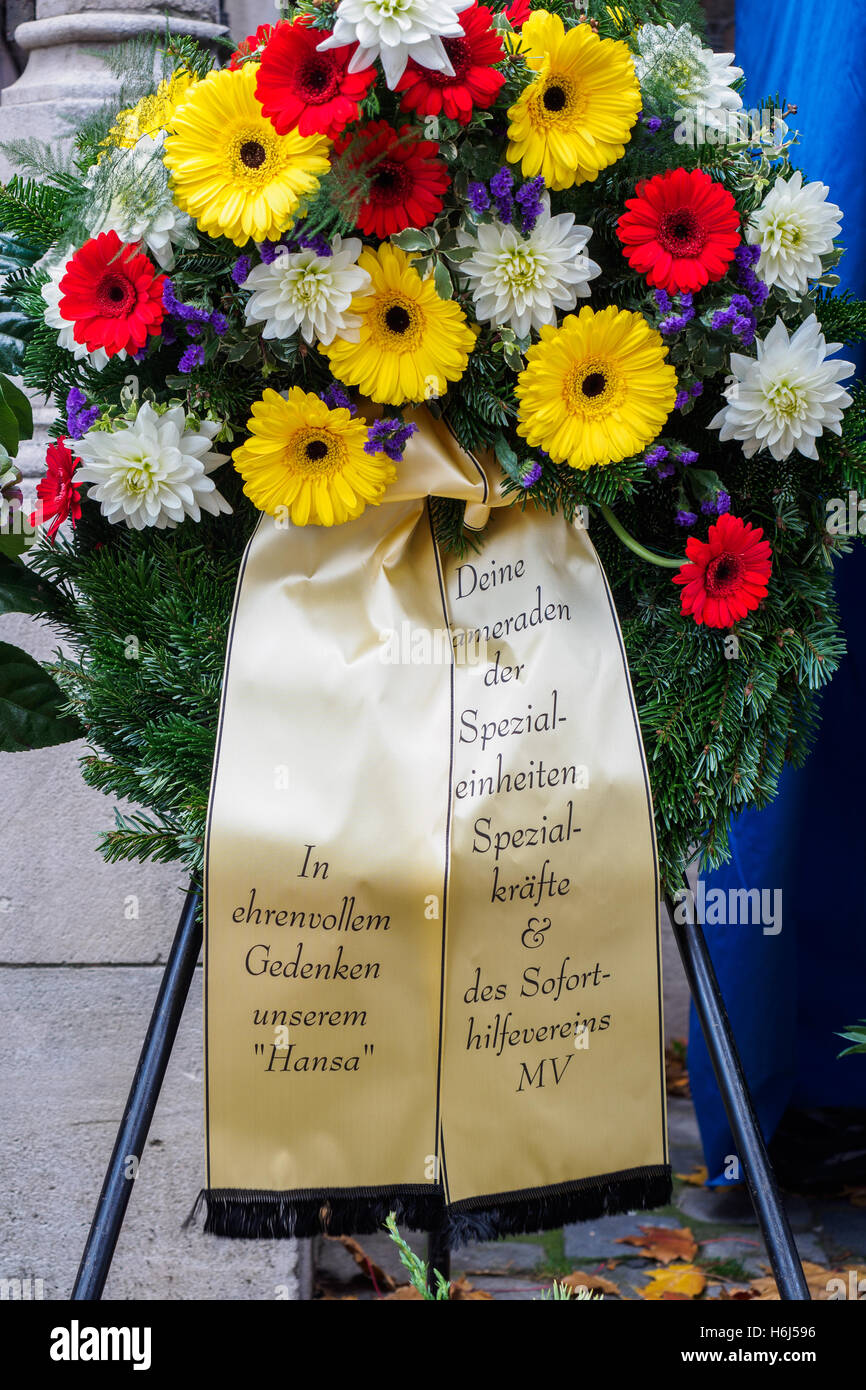 Citizen words stock photos citizen words stock images alamy the ribbons on a funeral wreath with izmirmasajfo