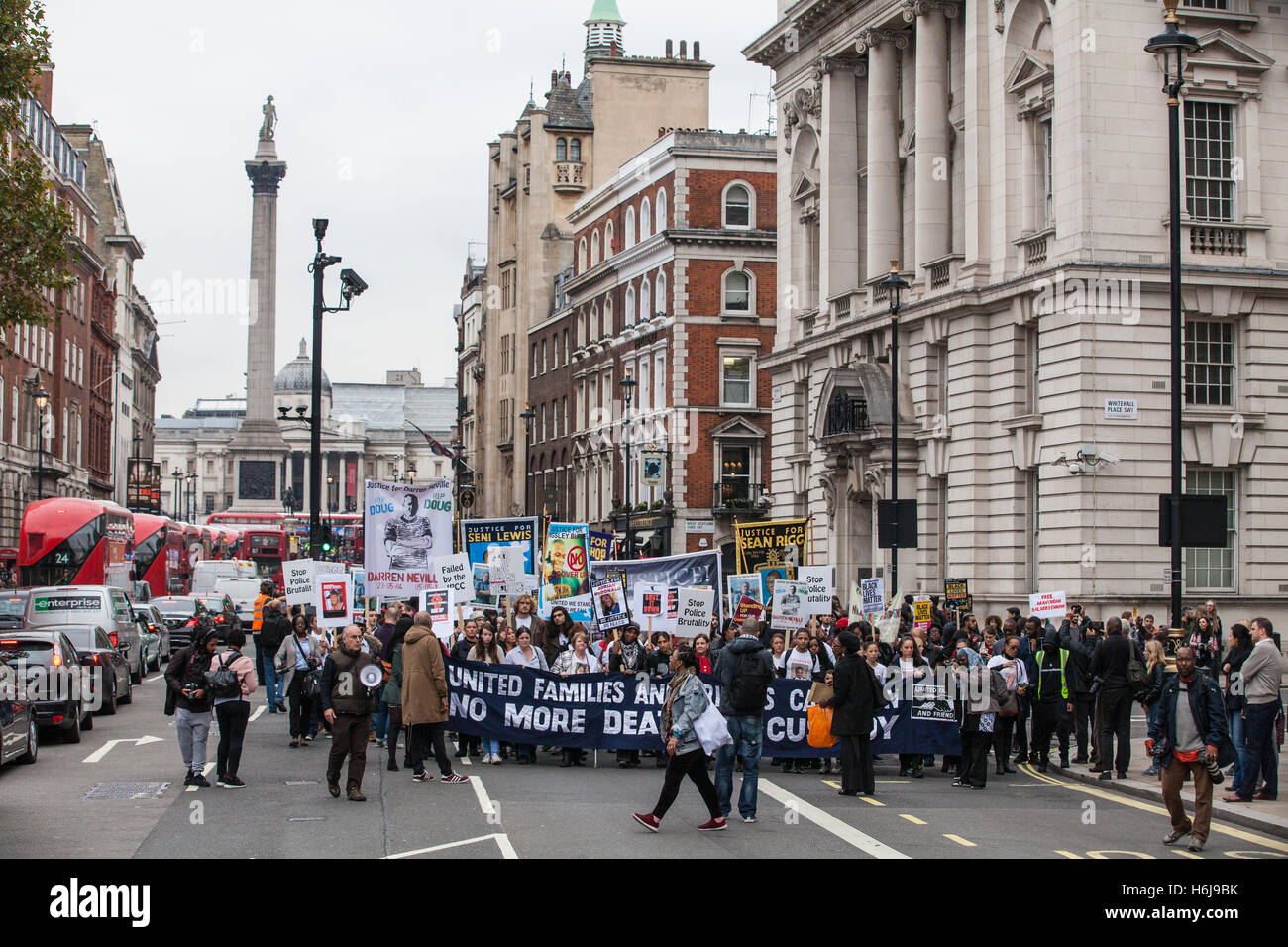 London, UK. 29th October, 2016. Campaigners from the United Families and Friends Campaign (UFFC) hold their annual - Stock Image