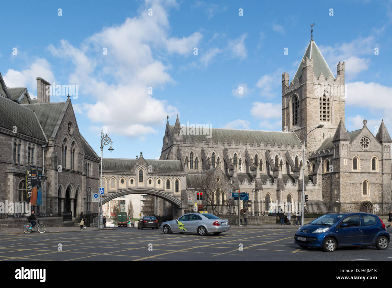 Christ Church Cathedral, Dublin, Ireland - Stock Image