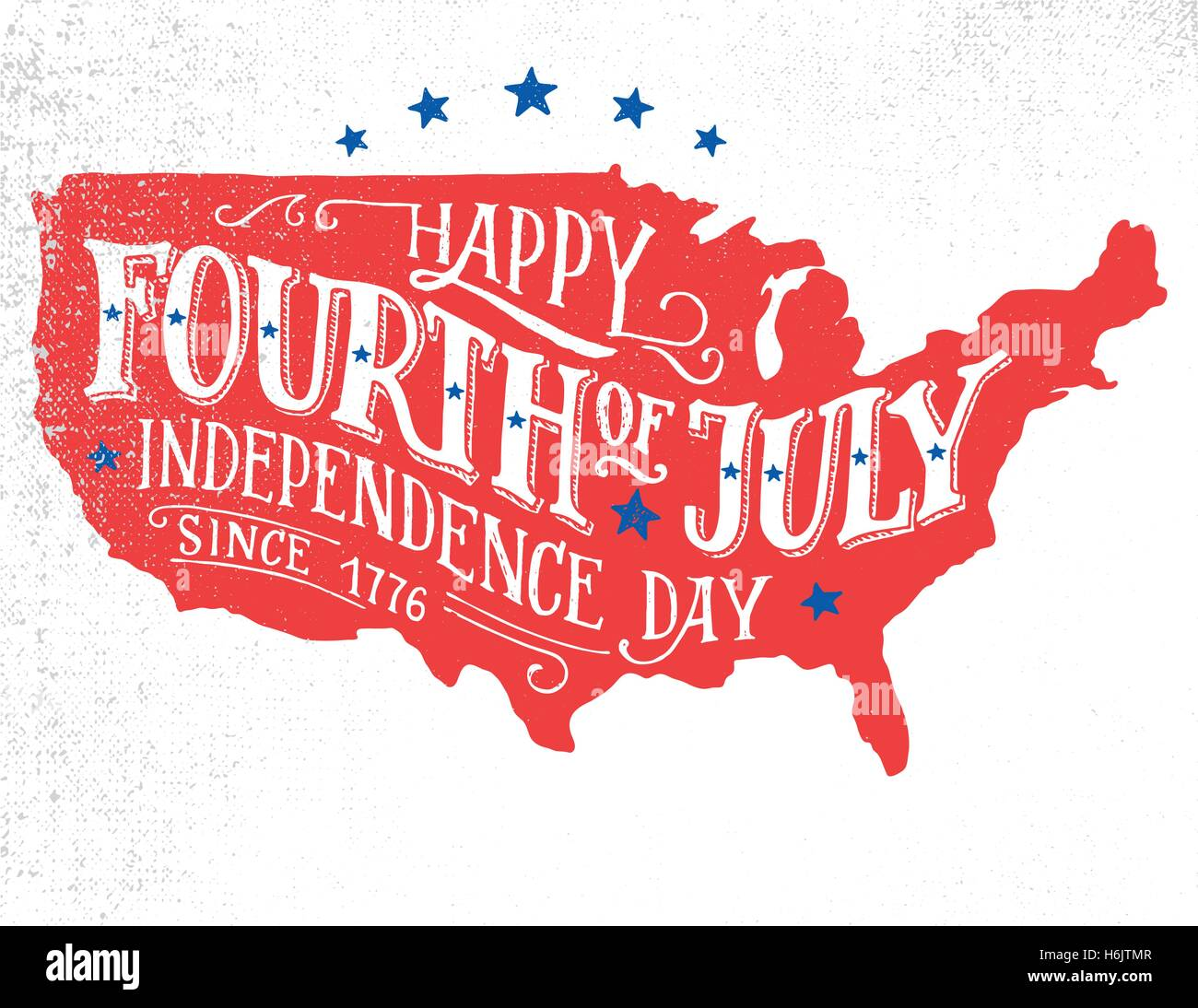 Happy fourth of july independence day of the united states 4th of happy fourth of july independence day of the united states 4th of july happy birthday america hand lettering greeting card o m4hsunfo
