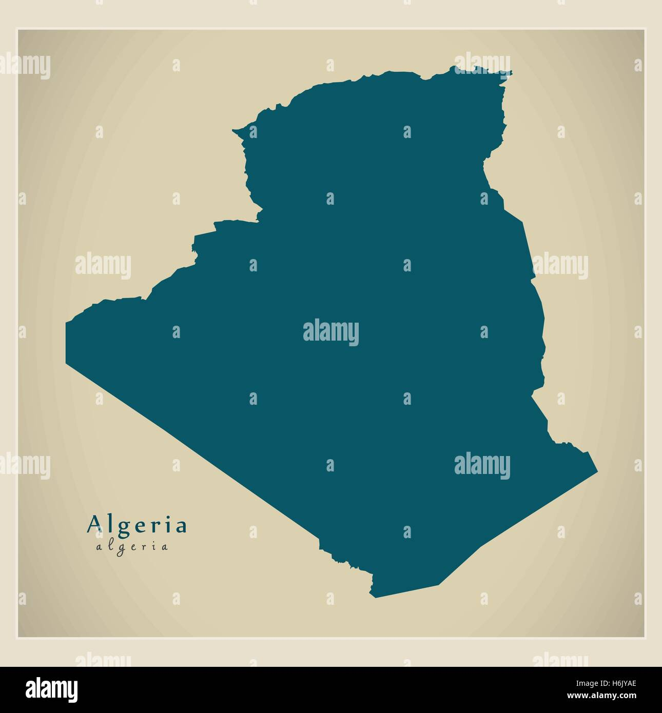 Algeria Map Stock Photos & Algeria Map Stock Images - Alamy
