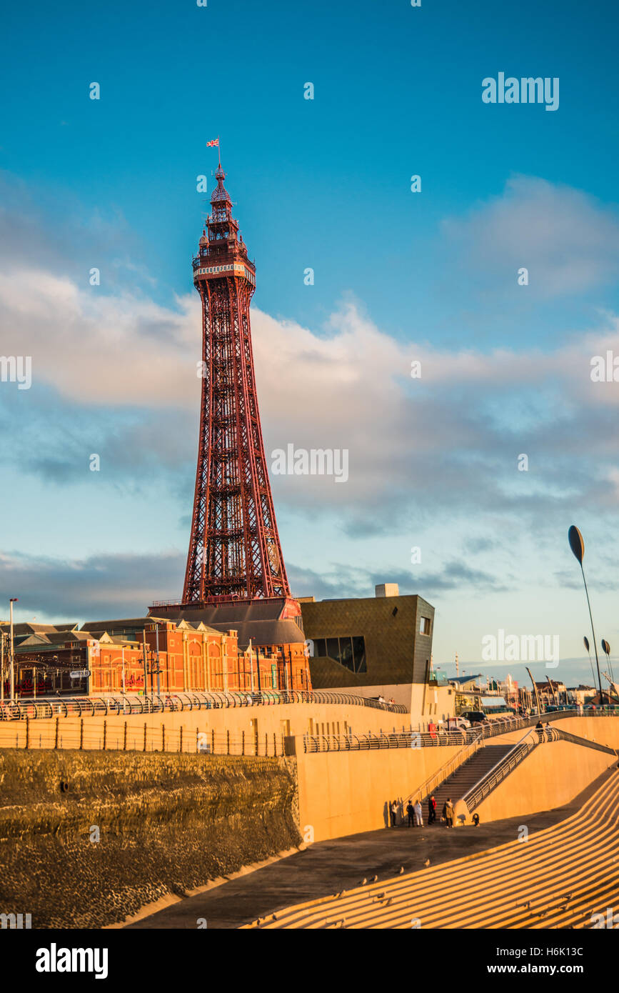 my Blackpool England the place ware i went has a child  Ray Boswell - Stock Image