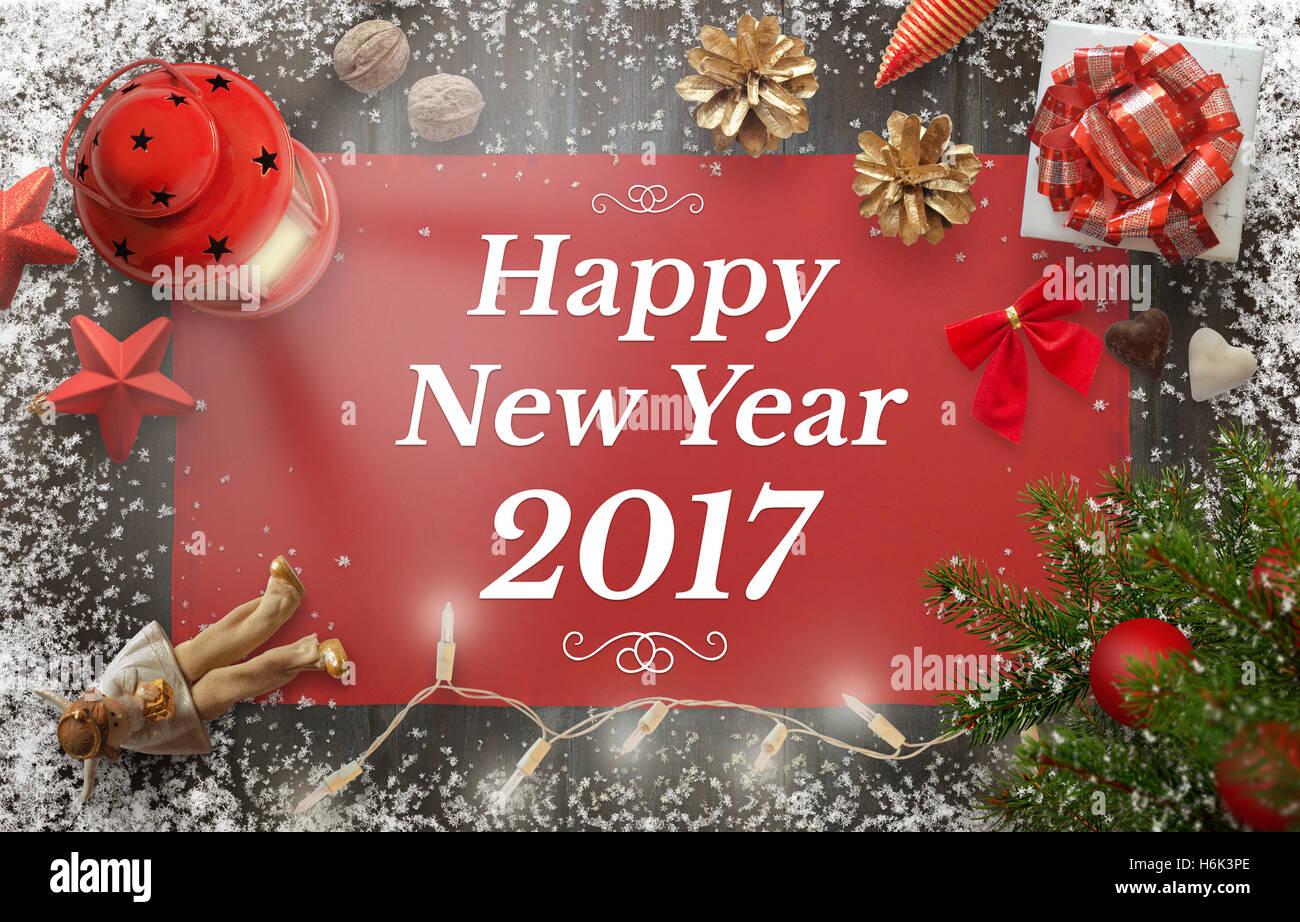 2017 Greeting Card Stock Photos 2017 Greeting Card Stock Images