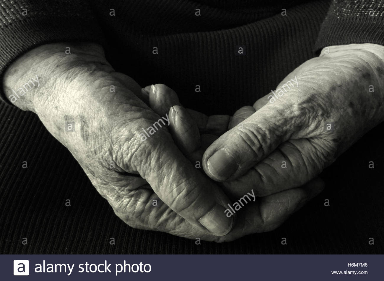 old people - Stock Image