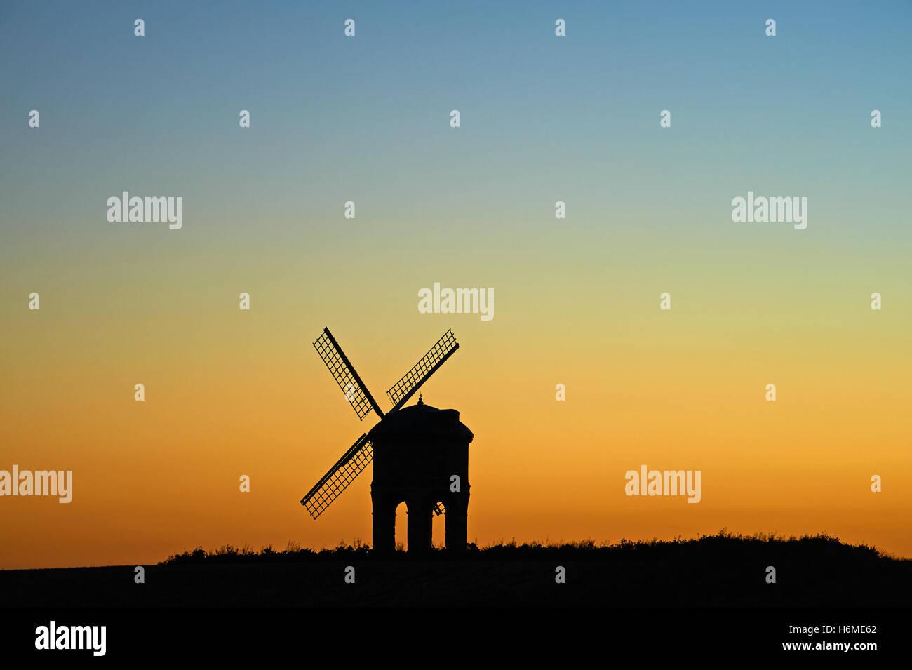 chesterton windmill silhouette stock photos chesterton windmill