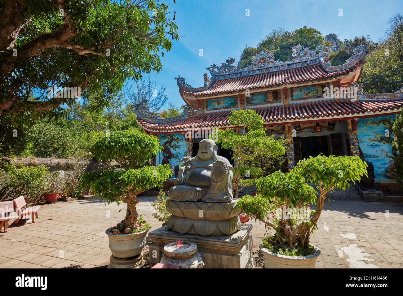 Tam Thai Pagoda on Thuy Son Mountain. The Marble Mountains, Da Nang, Vietnam. - Stock Image