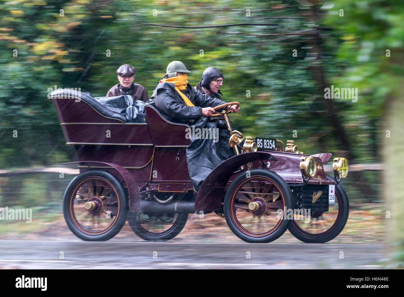 The Annual London to Brighton Veteran Car Rally, or Old Crocks Race ...