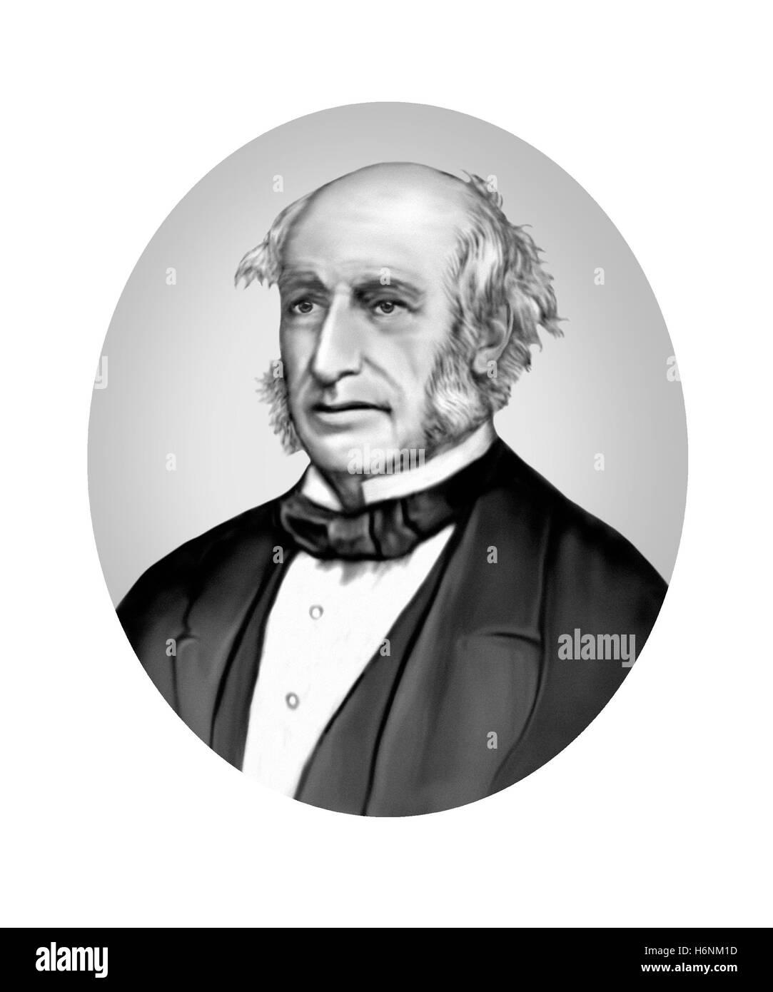 William Hilton Hovell, 1786-1875, Explorer - Stock Image
