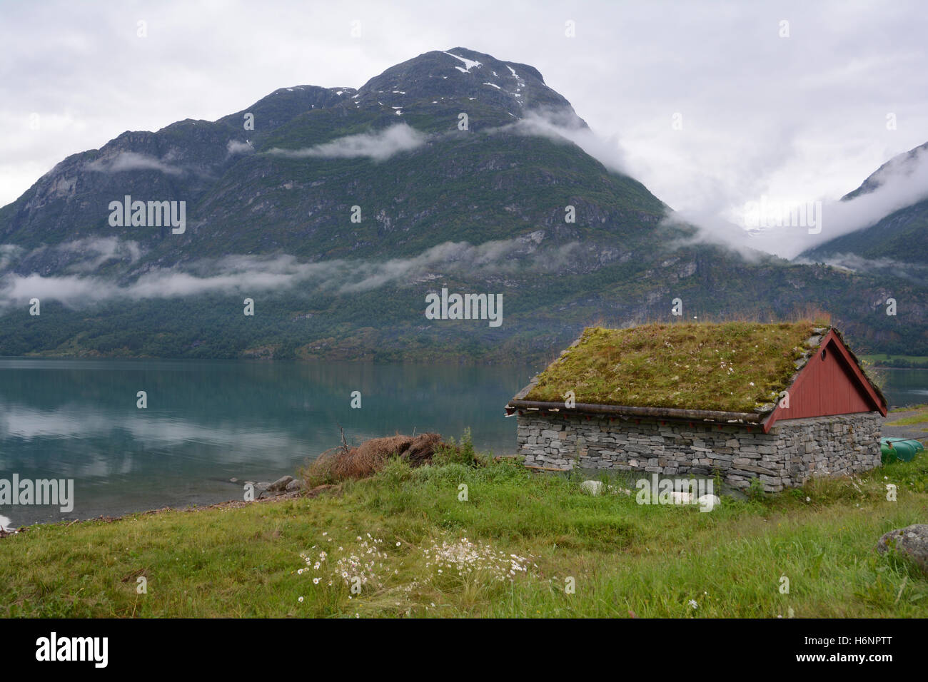 In Norway, Trollstigen. - Stock Image