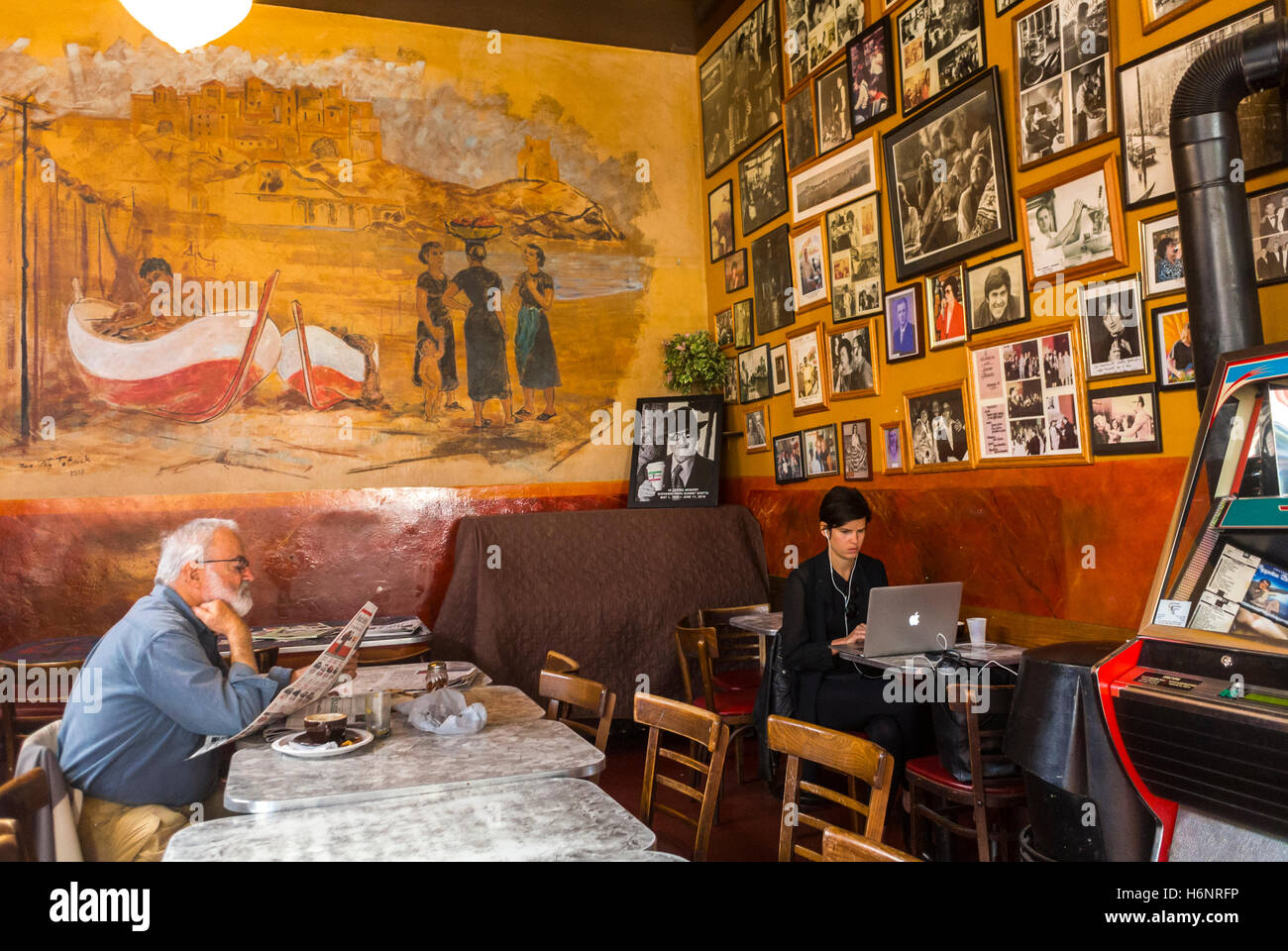 Italian Cafe North Beach San Francisco