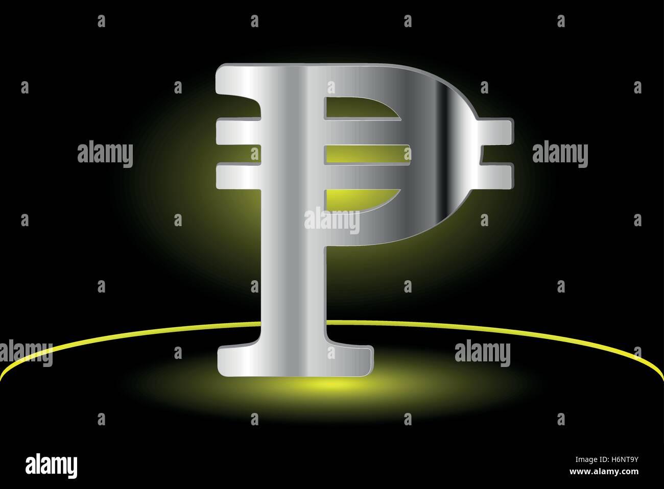 Peso Sign Icon Money Symbol Stock Vector Art Illustration