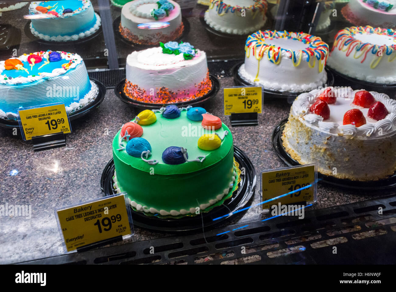 Fabulous Decorated Baked Cakes Display Detail Stock Photos Decorated Personalised Birthday Cards Paralily Jamesorg