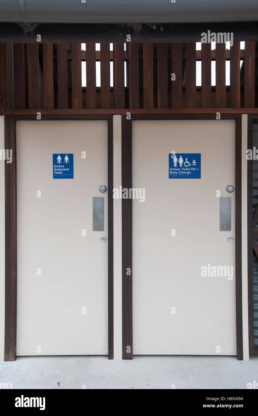 State-of-the-art accessible public toilets at the tourist ...