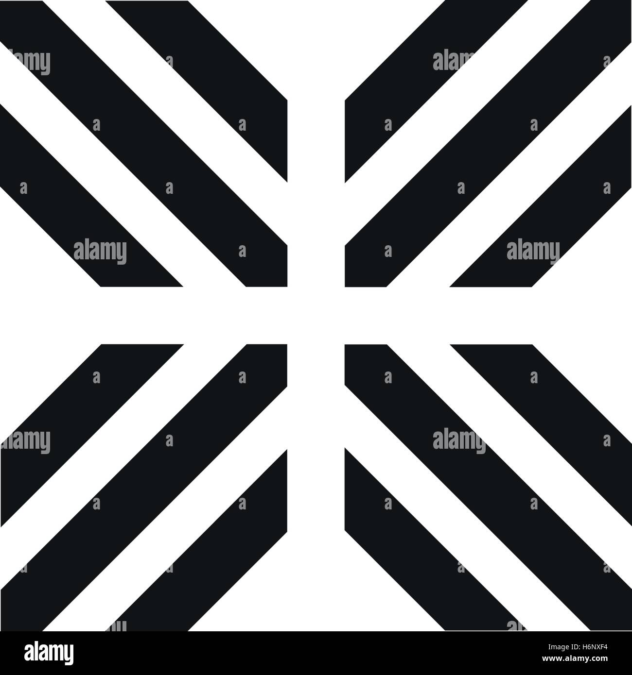 Unusual Geometric Letter X Architecture Vector Logo Isolated Stock Vector Image Art Alamy