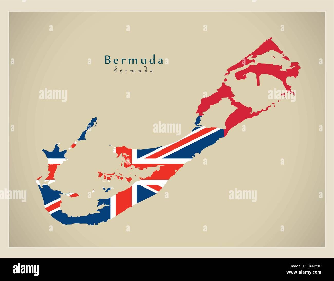 Map Bermuda Stock Photos & Map Bermuda Stock Images - Alamy