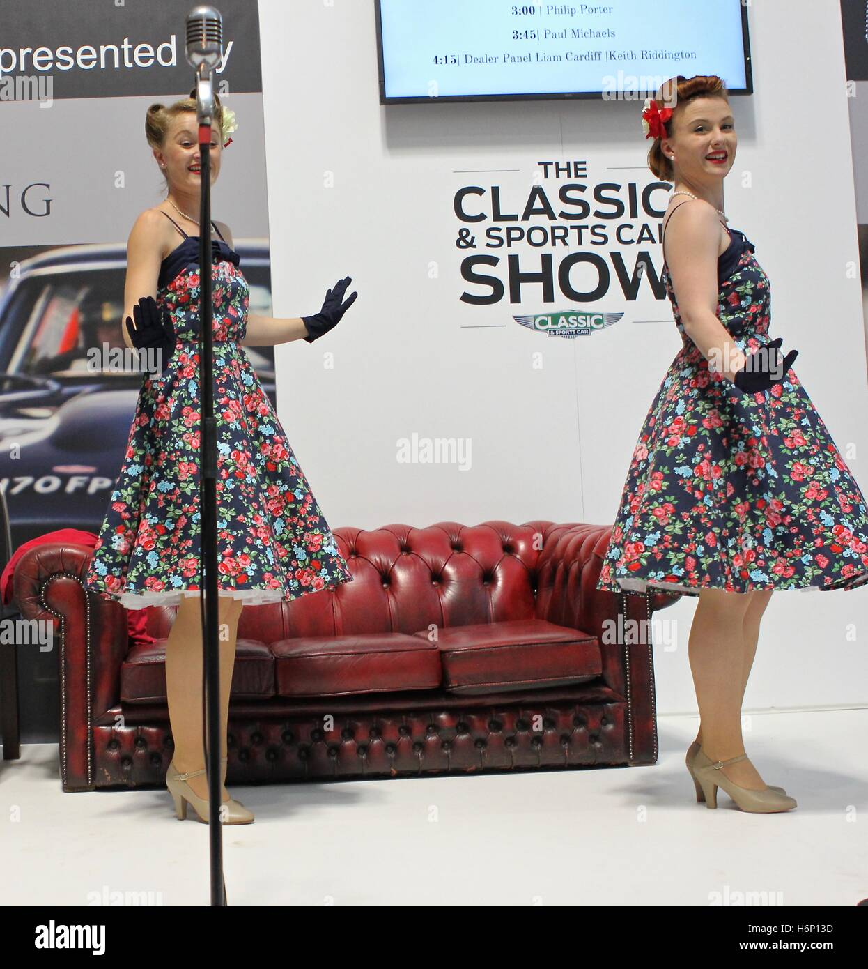 `My Favourite Things performing an array of 1930s to 1950s songs and a combination of dance moves at The Classic - Stock Image