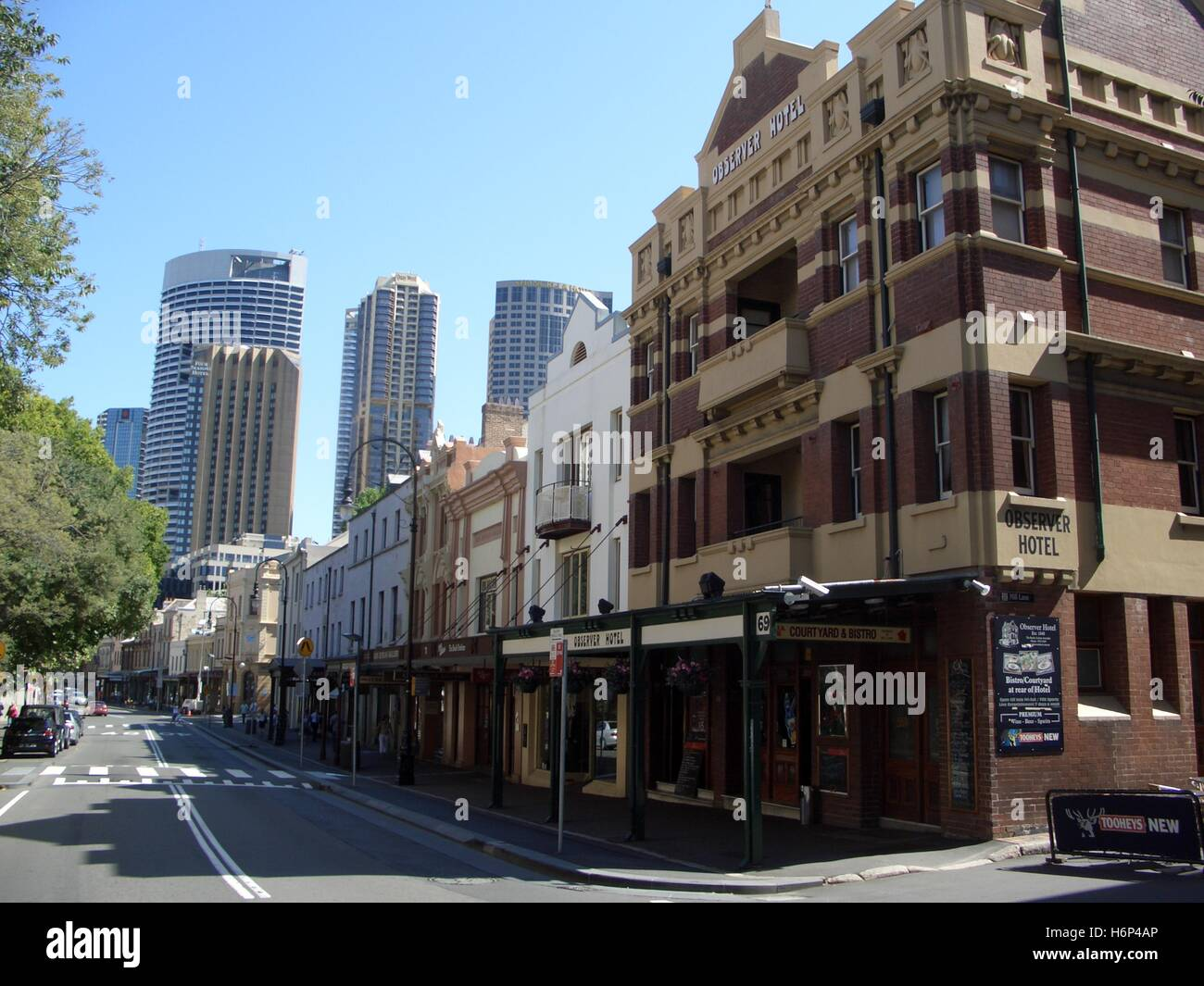 downtown sydney - Stock Image