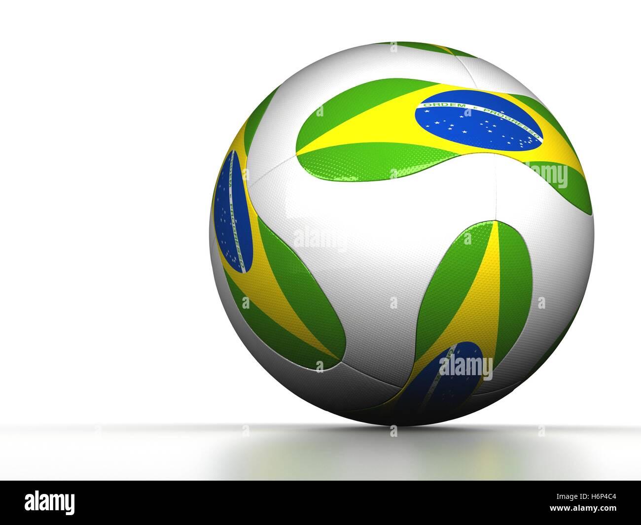 soccer brazil - Stock Image