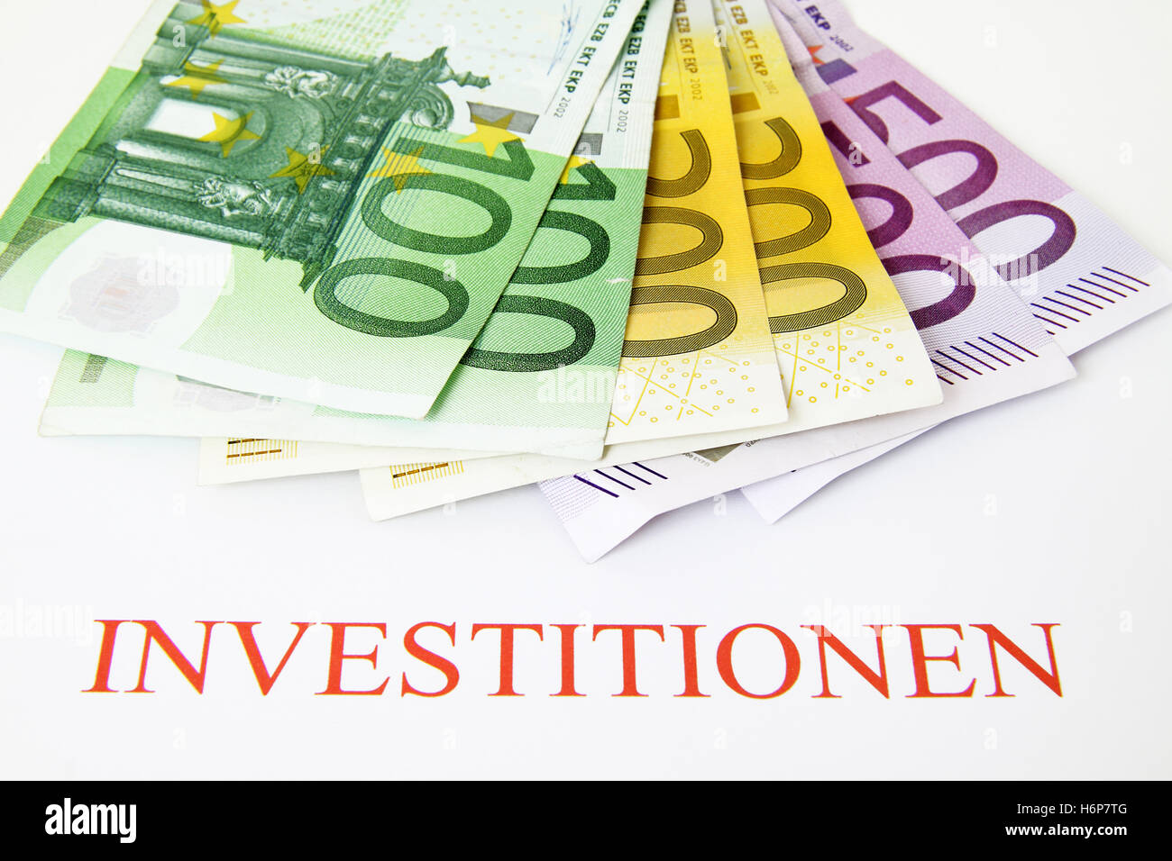 investments - Stock Image