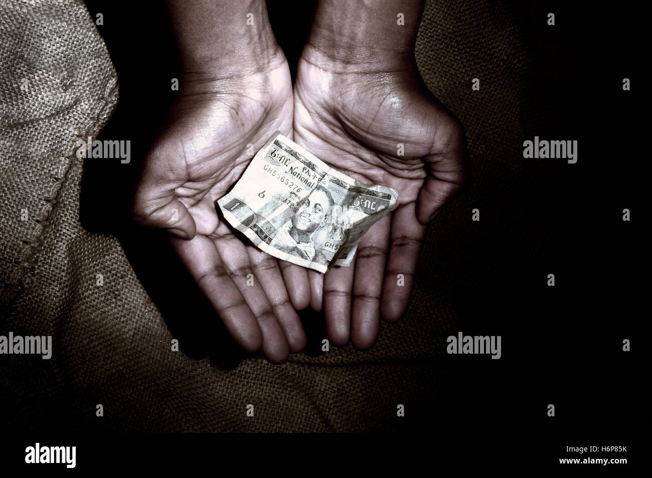 developing aid - Stock Image