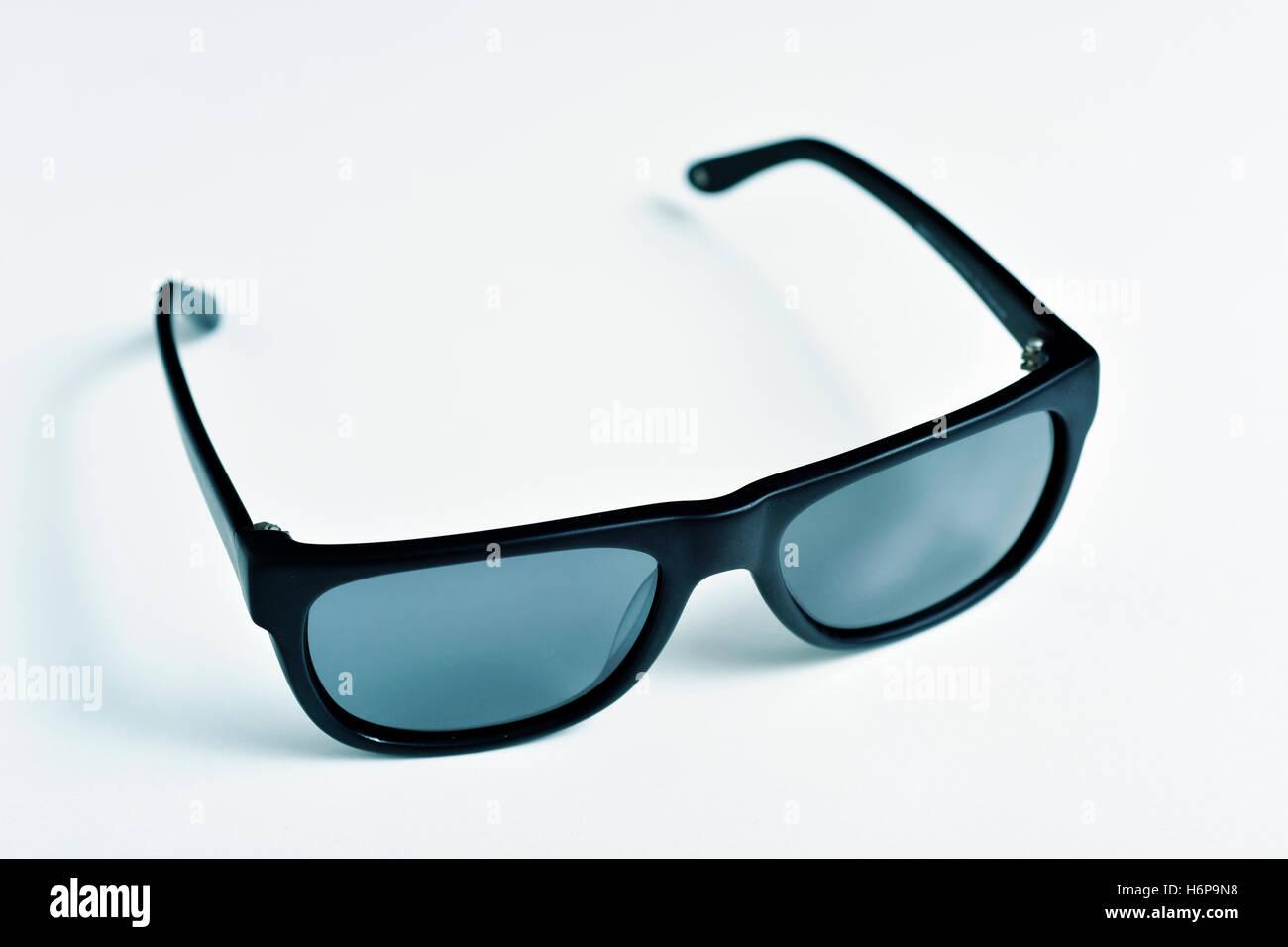 White Framed Sunglasses Stock Photos & White Framed Sunglasses Stock ...