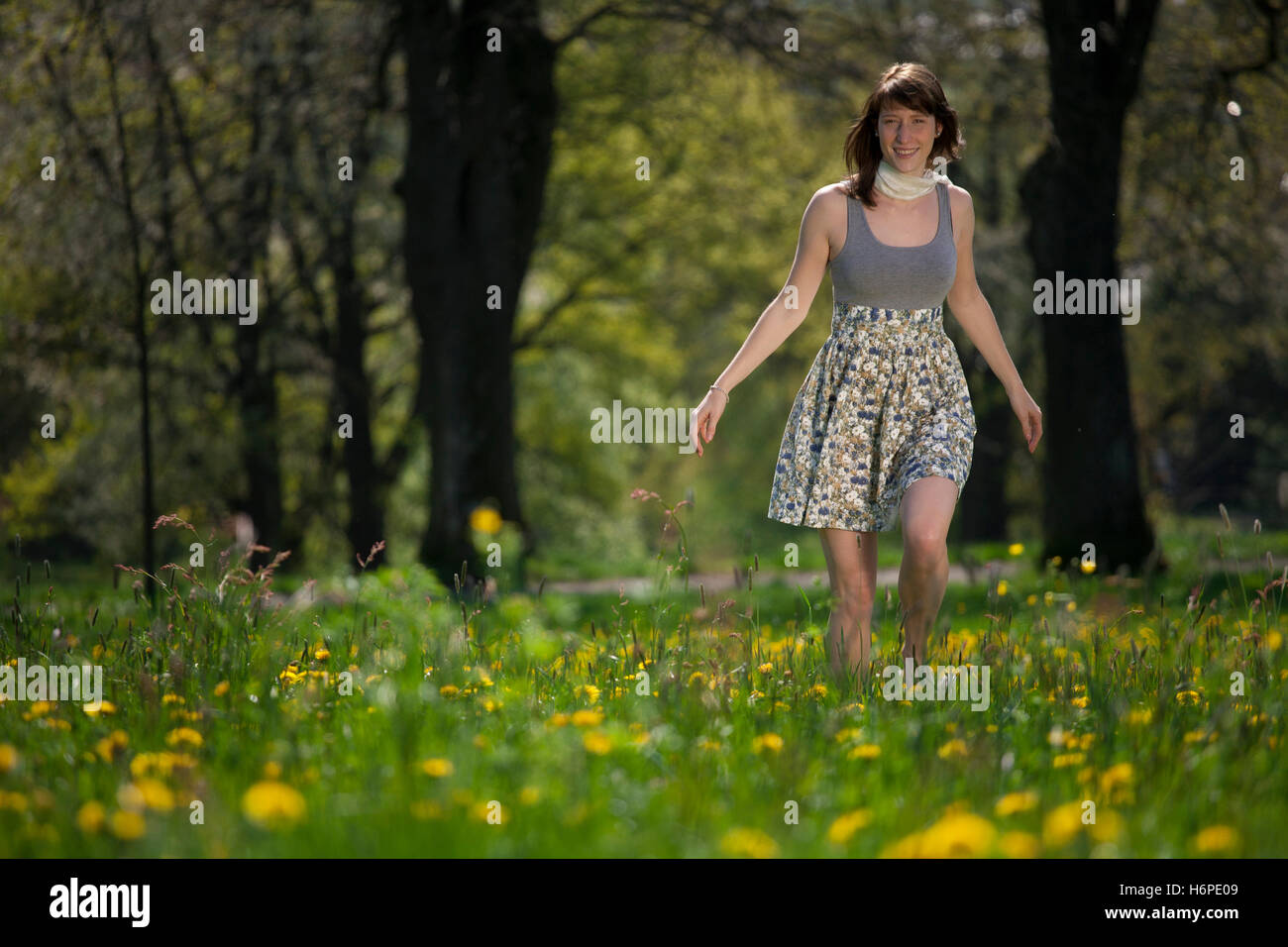 country life - Stock Image