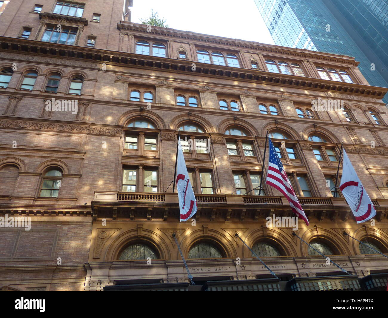 Carnegie Hall On 7th Avenue And 57th Street