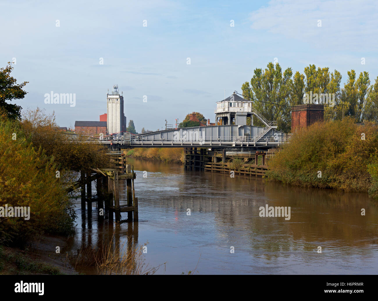 The River Ouse at Selby, North Yorkshire, England UK - Stock Image