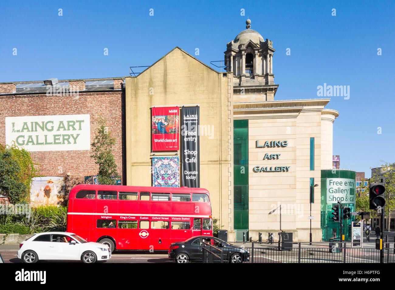 Laing Art Gallery in Newcastle upon Tyne, England. UK Stock Photo