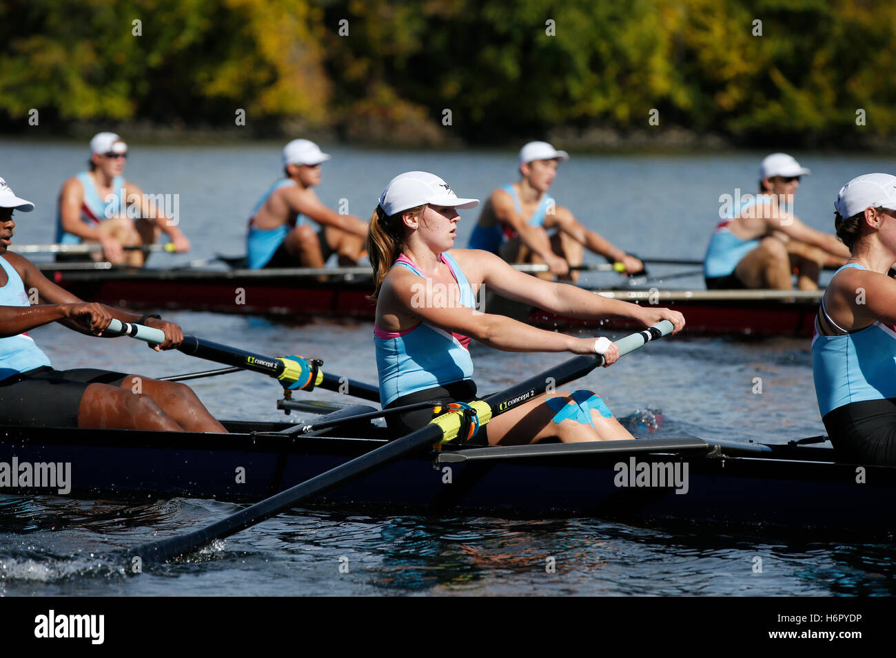 High School Sports, crew - Stock Image