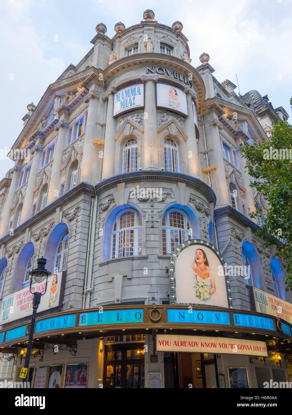 The ABBA Musical Mamma Mia At Novello Theatre In London