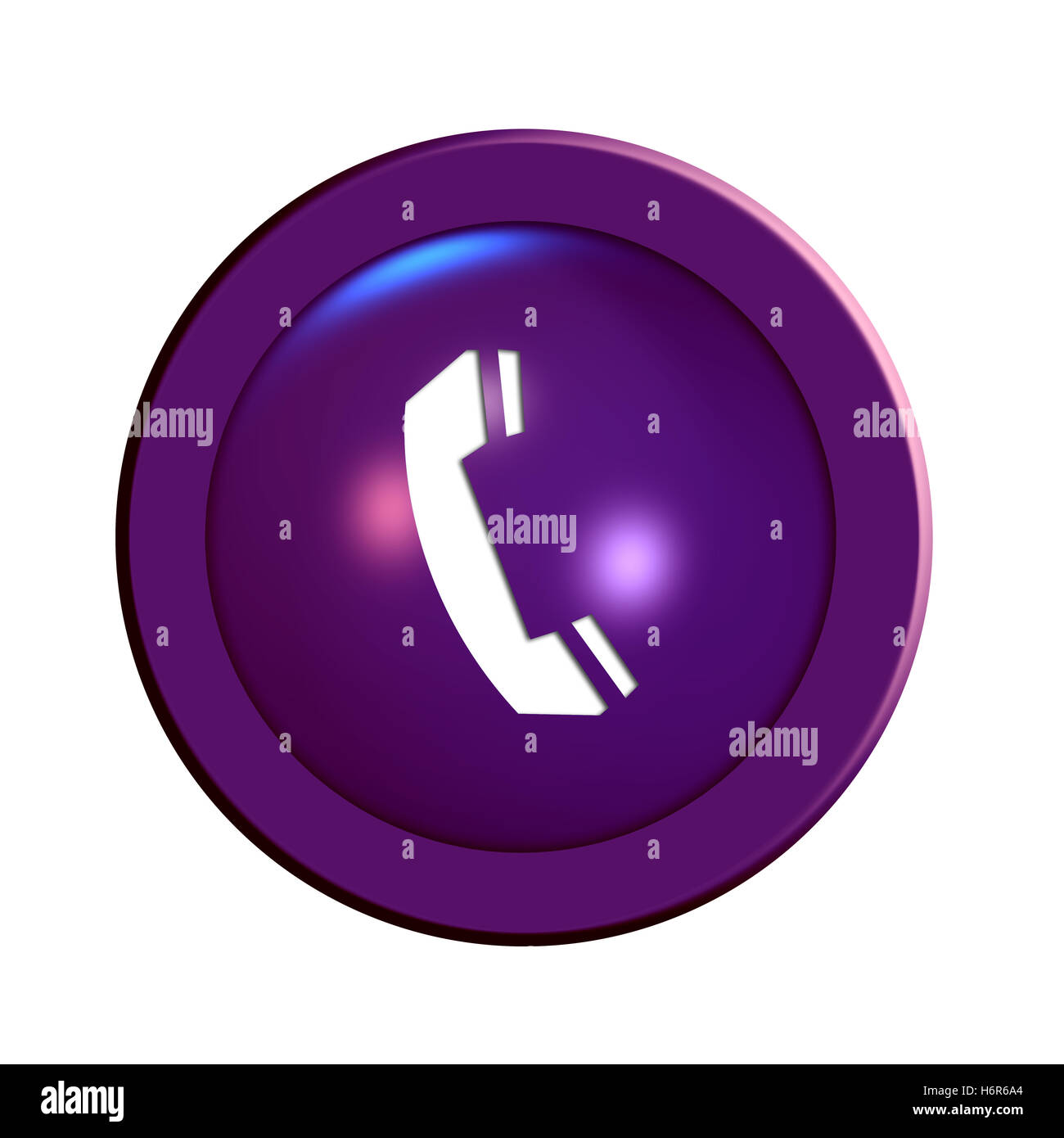 phone button Stock Photo