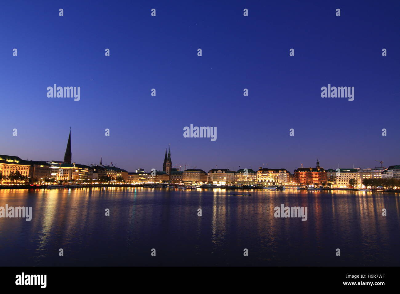 cities villages - Stock Image