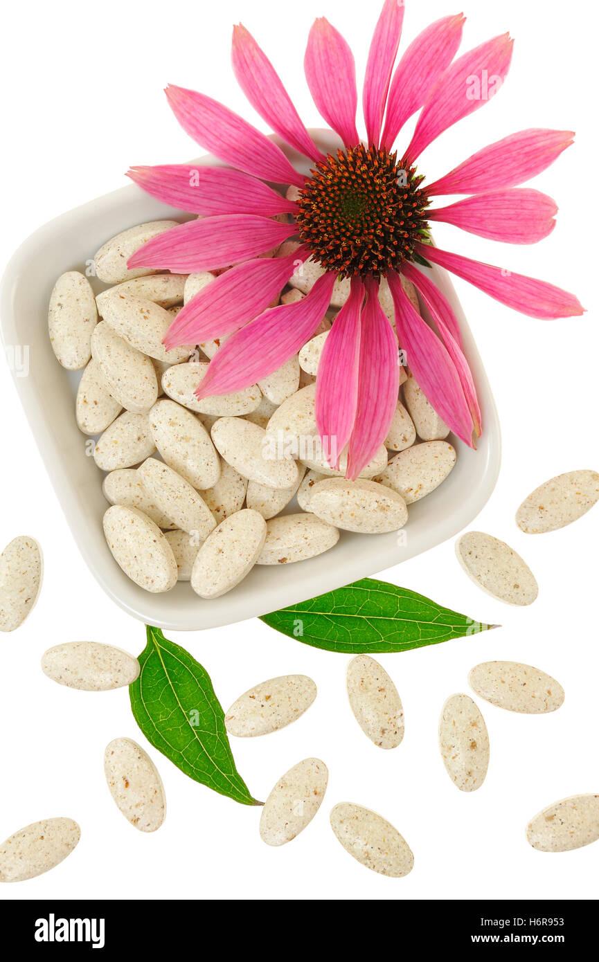 medicine cosmetics - Stock Image