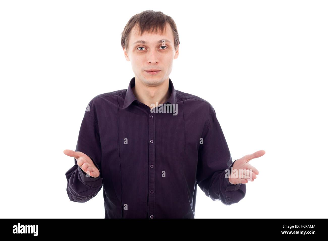 funny confused man gesture humans human beings people folk persons