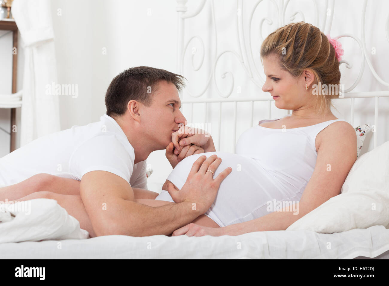 Husband Wife Baby Delivery Stock Photos Husband Wife Baby Delivery