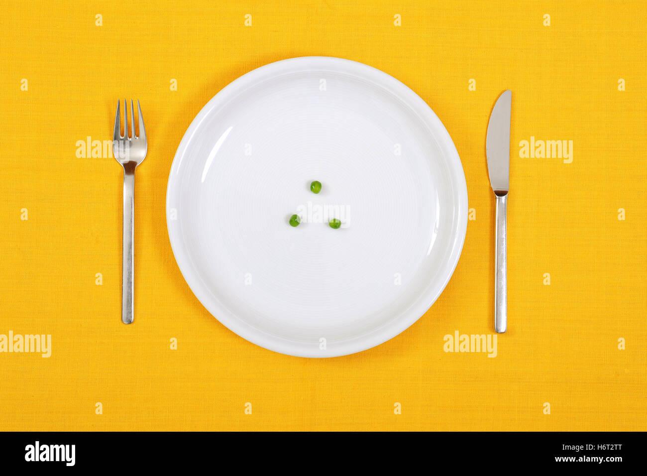 european food Stock Photo