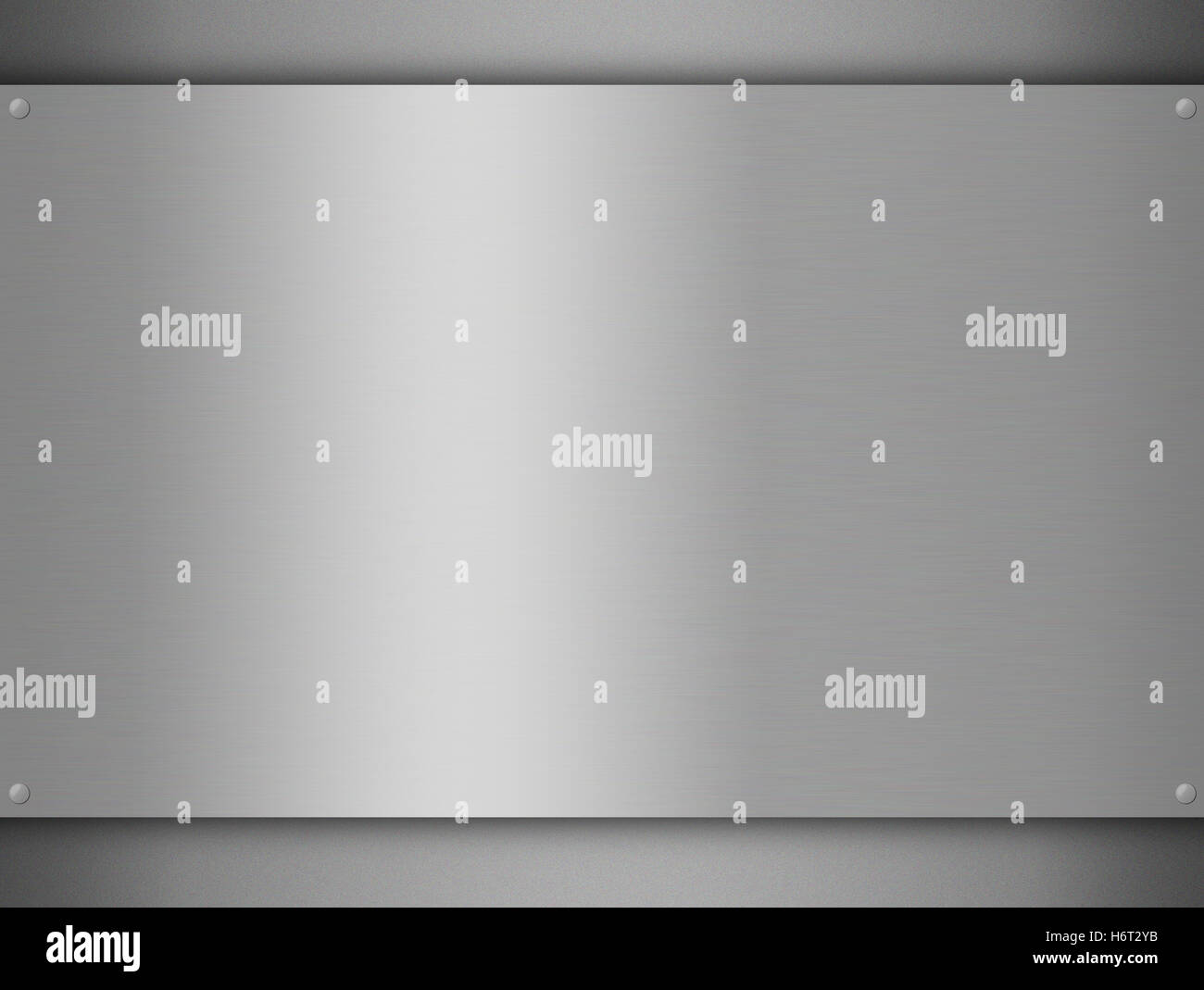 steel metal copy imitation cliché template falsification plagiarism aluminum aluminium metallic page - Stock Image