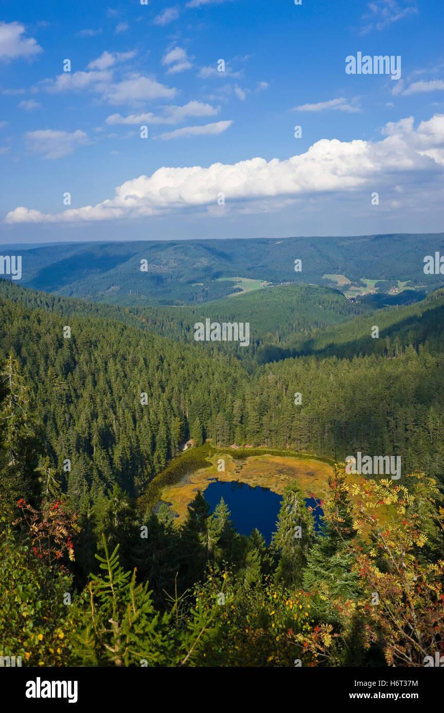 huzenbacher lake,huzenbnach - Stock Image