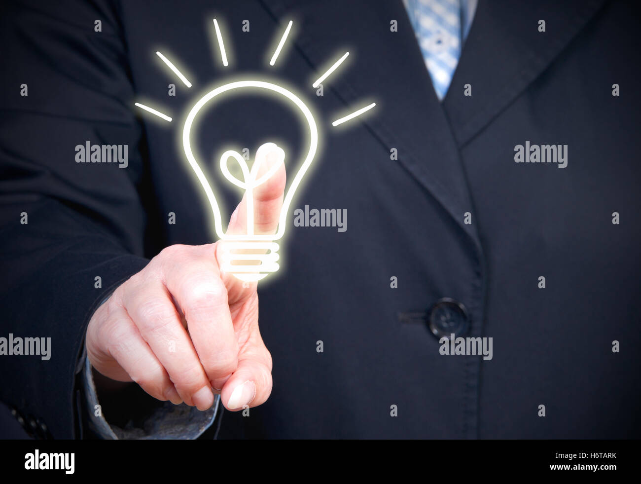 ideas and innovations - Stock Image