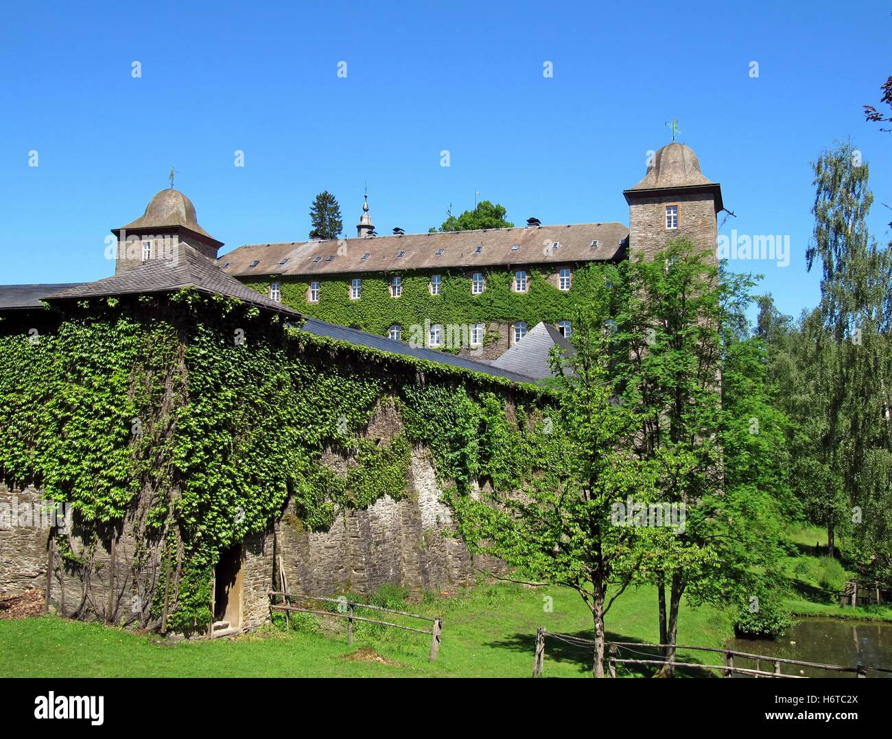 burg schnellenberg Stock Photo